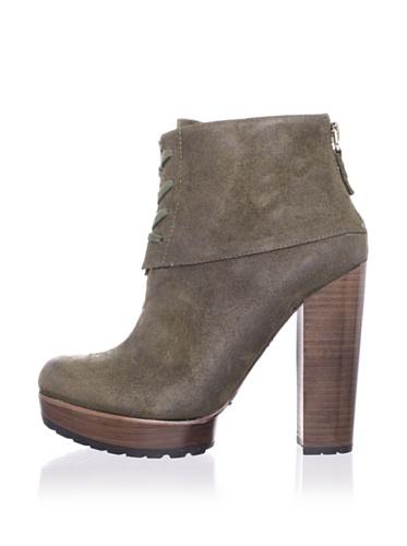 Modern Vintage Women's Jenie Ankle Boot (Moss)
