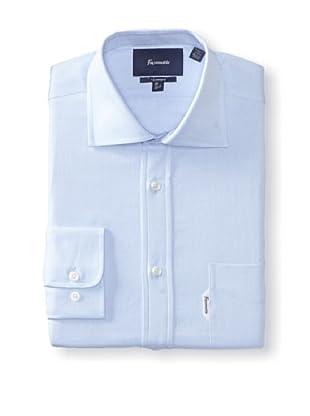 Façonnable Men's Classic Fit Dress Shirt (Sky)