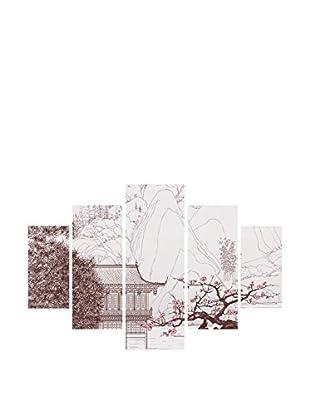 Miracle Wandbild 5 tlg. Set St090 mehrfarbig