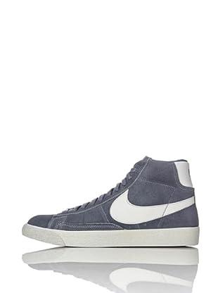 Nike Zapatillas Blazer Mid Prm (Antracita/Gris)