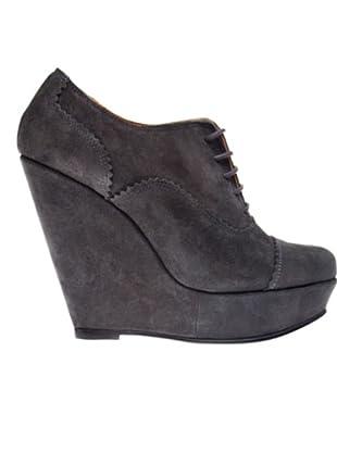 RAS Zapatos Suede (gris oscuro)