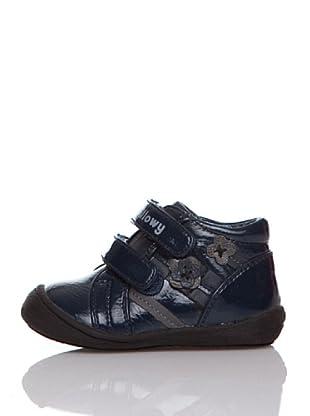 Billowy Botas Velcros (Azul)