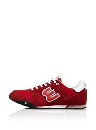 Erase Zapatillas Deportivas con Cordones (Rojo)