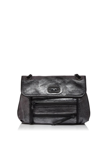 Rafe Tansy Small Convertible Shoulder Bag (Smoke)