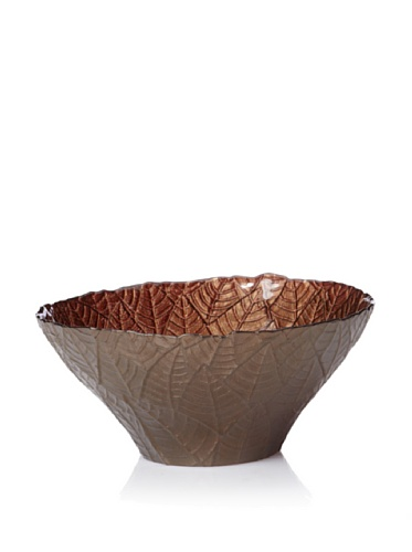 Calegaro Italy Leaves Centerpiece (Brown)