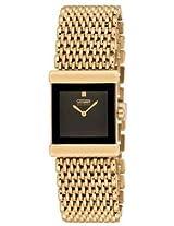 Citizen Analog Watch - For Women Gold-EW8602-51E