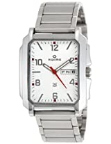 Maxima Attivo Analog White Dial Men's Watch - 22040CMGI