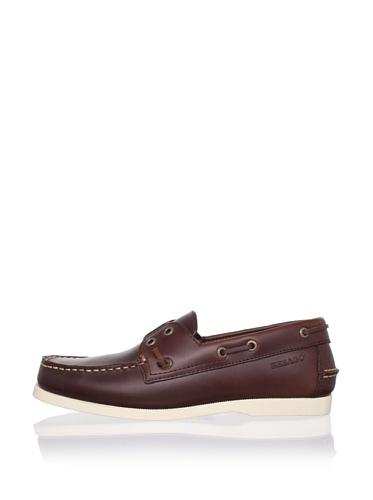 Sebago Men's Wharf Boat Shoe (Brown)