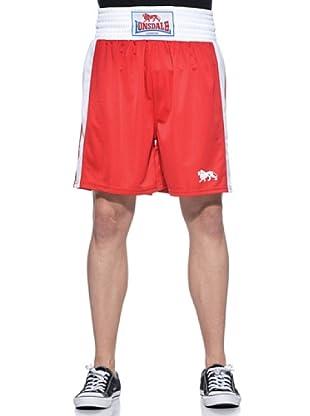 Lonsdale Shorts Amateur Boxing Trunks (L120) (Rojo)