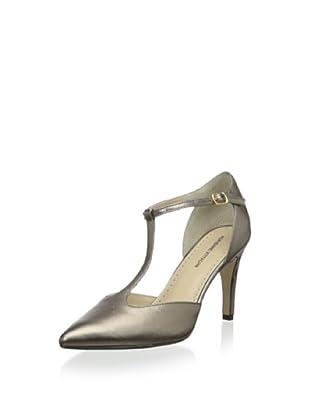 Adrienne Vittadini Footwear Women's Cecelia T-Strap Pump