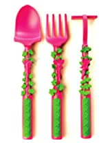 Set of 3 Garden Fairy Utensils