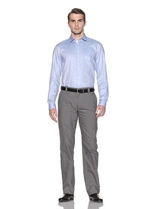 John Varvatos Collection Men's Slim Fit Shirt (Deep Blue)