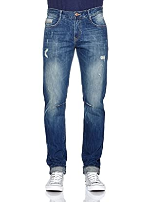 LTB Jeans Vaquero Justin (Azul Oscuro Used)