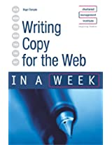 Writing Copy for the Web in a week (IAW)