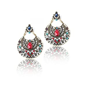 Thia Ornate Statement Earrings