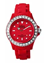 Colori Analog Red Dial Women's Watch - 5-COL111