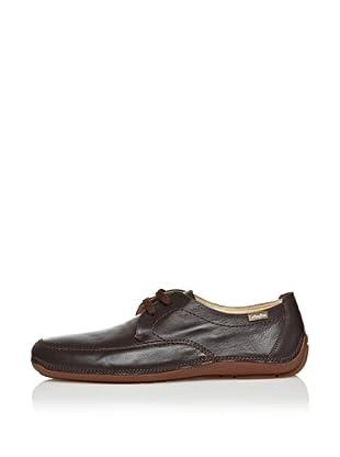 CallagHan Zapatos Casual Cordones (Marrón)