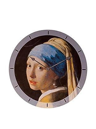 Artopweb Reloj De Pared Vermeer Ragazza Con L'Orecchino Di Perla