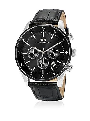 Rhodenwald & Söhne Reloj con movimiento cuarzo japonés 10010071 Negro 45 mm
