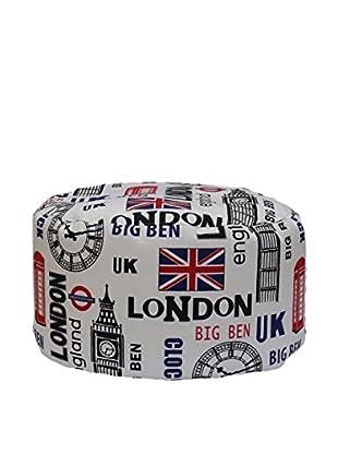 13 Casa Pouf Londra A4 weiß