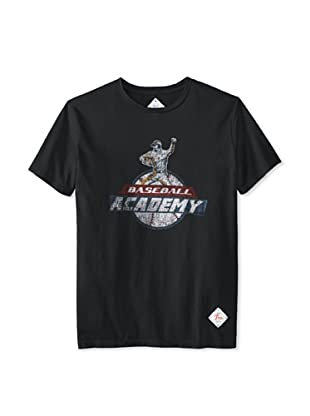 7th Inning Stretch Men's Academy T-Shirt (Vintage Black)