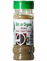 Mother Organic Black Pepper Powder Bottle, 100g