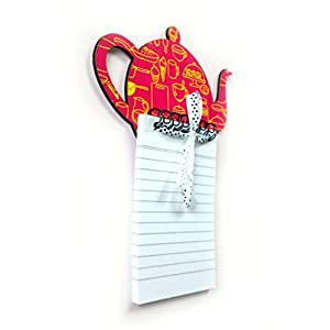The Little Things Kettle (Pink) - Magnetic Memo Pad
