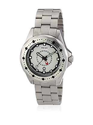 Nautec No Limit Reloj de cuarzo Man OC QZ-GMT/STSTWHWH  47 mm