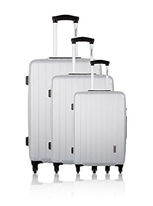 Travel ONE Set de 3 trolleys rígidos Lowe Plata