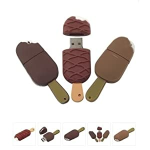 16GB Pendrive Chocolae Ice Cream Shape USB Flash Drive Fancy Deigner 16GB Pen DriveMCS - 67