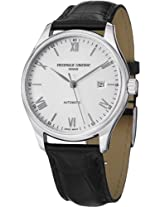 Frederique Constant Analogue White Dial Men's Watch - FC-303SN5B6