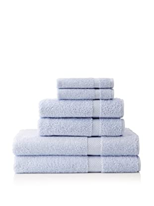 Schlossberg Hellas 6 Piece Towel Set (Celeste)