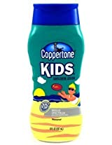 Coppertone SPF#70+ Kids Broad Spectrum 8 oz. (3-Pack) with Free Nail File