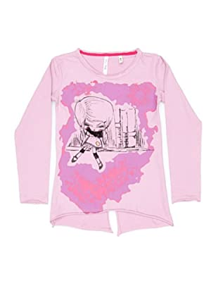 New Caro Camiseta Larga (Rosa)