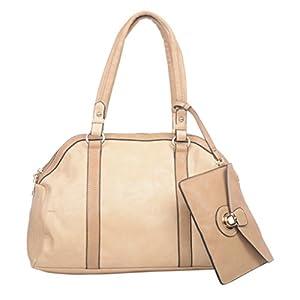 Adisa Women's Handbag (APRICOT) (B1161)