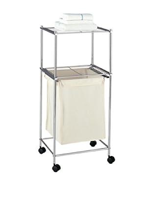 Organize It All Metro 2 Tier Laundry Cart