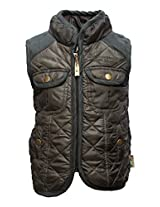 Gron Stockholm Boys' Jacket (GW-018_Dark Green_5-6 Years)