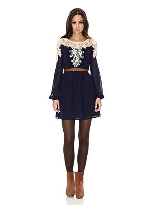 Rare London Vestido Iniga (Azul Marino)