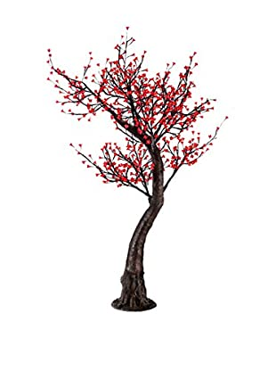 LED Red Cherry Blossom Tree, Red Bulbs
