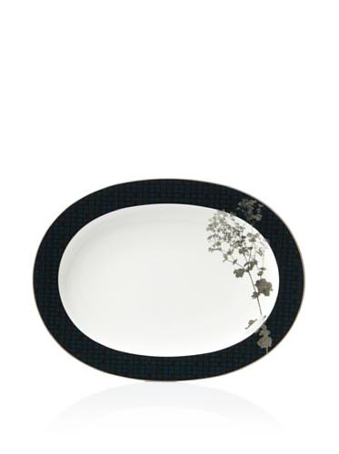Noritake Everyday Elegance Verdena Oval Platter (Platinum)