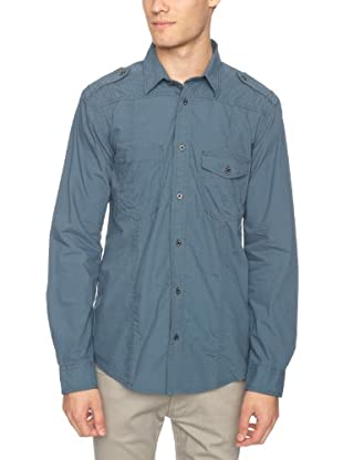 JACK & JONES Camisa Chris L/S (Azul)