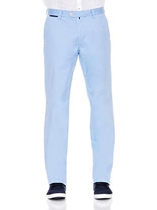 Pedro del Hierro Pantalón Pima Cotton Dante (Azul)