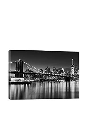 Silver City Gallery Wrapped Canvas Print