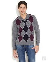 Winter Trendy Sweater-Light Grey-L