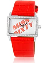 Miss Sixty Analog White Dial Women's Watch - J 9002