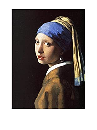 LegendArte  Wandbild Das Mädchen mit dem Perlenohrring von Vermeer