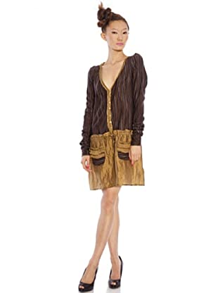 Custo Vestido (bronce / marrón)