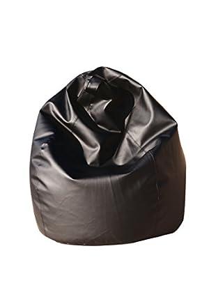 13 Casa  Sitzsack Dea schwarz 70 x 110 cm