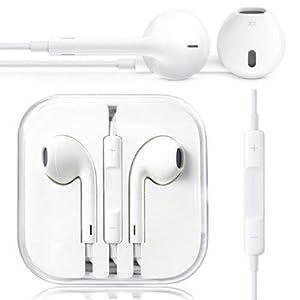 New 3.5mm Earpods Handsfree Earphone Stereo Headset mic Apple Iphone/ipad/ipod