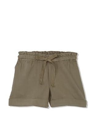 Neige Girl's Taryn Twill Shorts (Army)